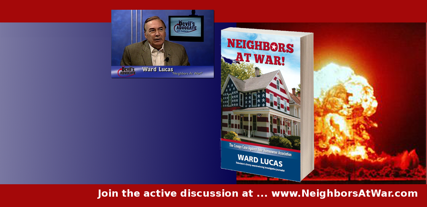 The Gripping and Controversial book ...Neighbors at War!